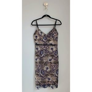 Gianni Bini Dresses - Gianni Bini Floral Lace Fitted Dress